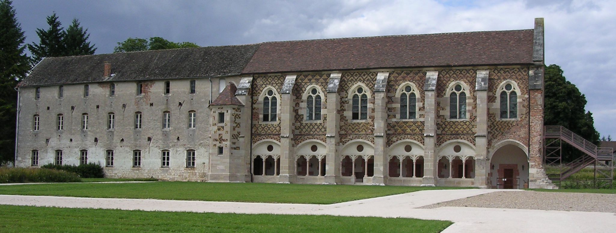 De bibliotheek van de abdij van Cîteaux