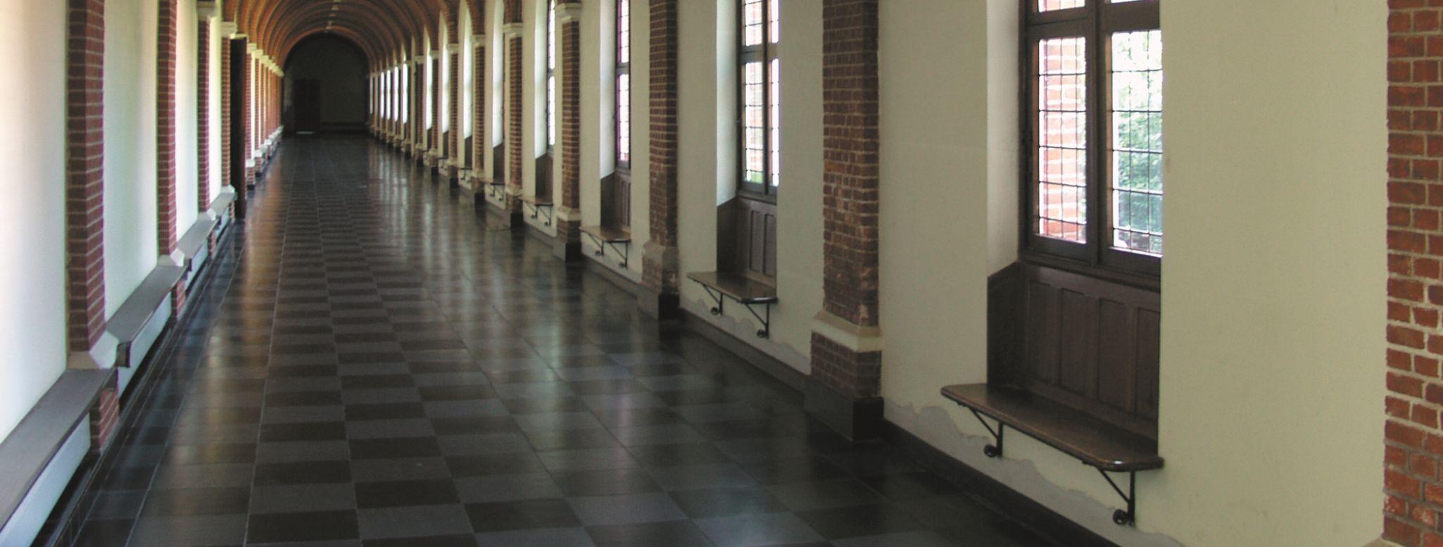Abdij Westmalle gangen