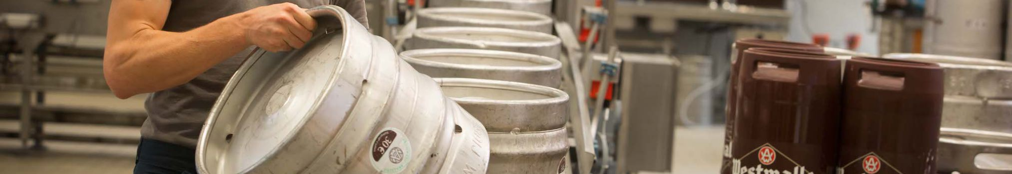 Westmalle kegs for business