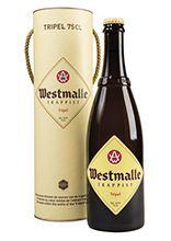 Koker met Westmalle Tripel 75 cl