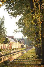 Brouwerij van Westmalle omringd door abdijmuur