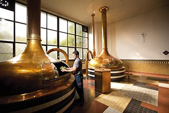 Westmalle brewhouse