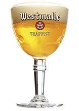 Westmalle Tripel 33 cl – vaso