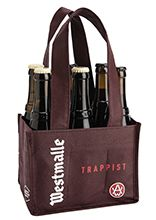 Cesta con 3 botellas Dubbel 33 cl y 3 botellas Tripel 33 cl