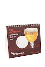 Westmalle table tent Dutch