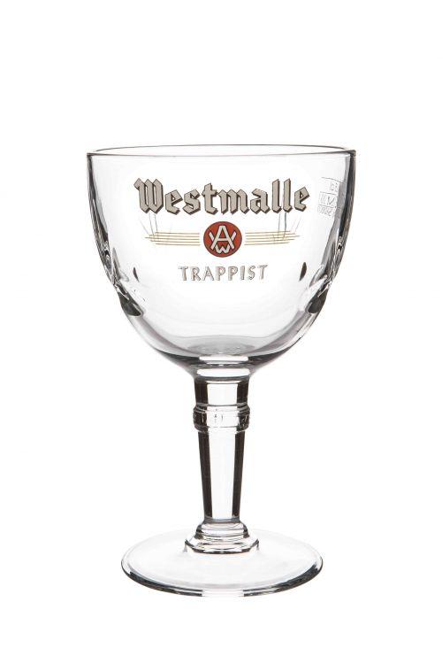 Vaso de degustación Westmalle de 25 cl