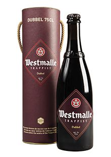 Boxed Westmalle Dubbel 75 cl