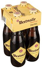 Set Westmalle Tripel 4 x 33 cl